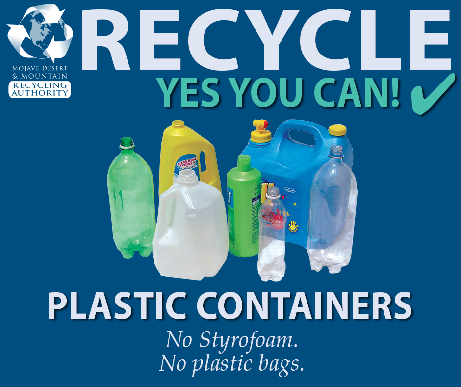 Recycle Plastic Containers