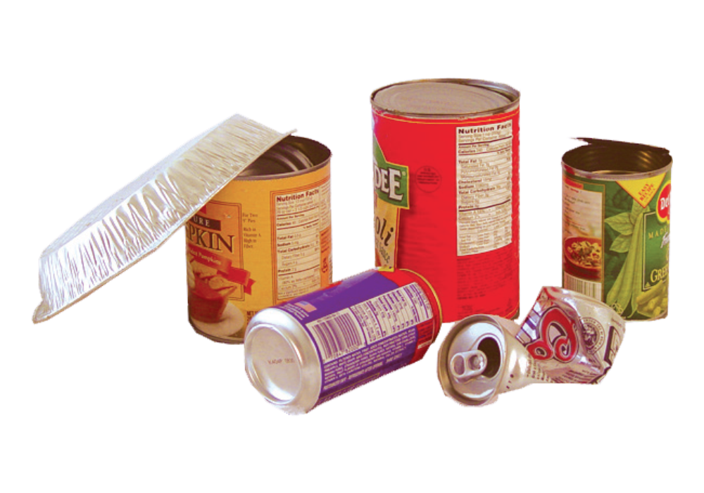 Recycle Metal Cans and Trays