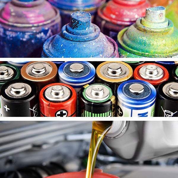 Household Hazardous Waste Items
