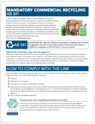 California Recycling Laws Thumbnail
