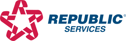 Republic Service provides recycling services