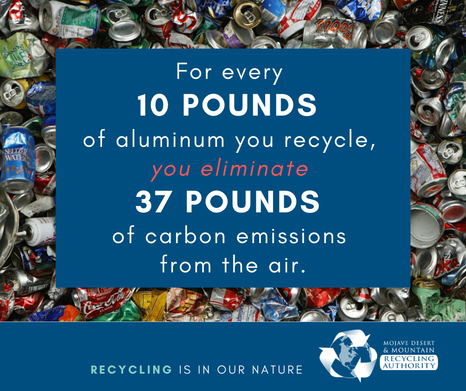 Recycle Aluminum to Reduce Carbon Emissions