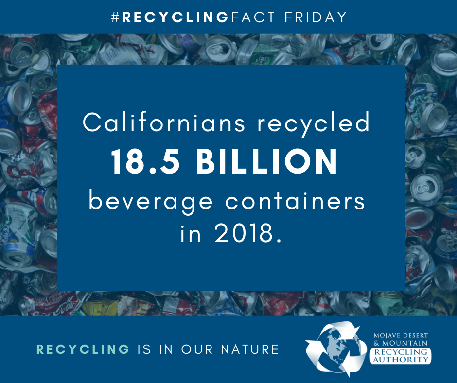 CRV 2018 Recycling Statistics