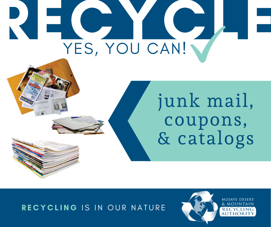 What To Recycle: Junk Mail