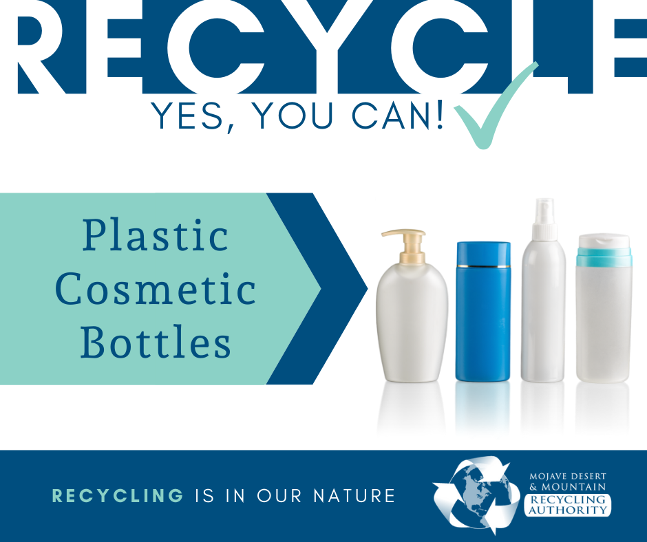 Plastic Cosmetic Containers are Reccylable