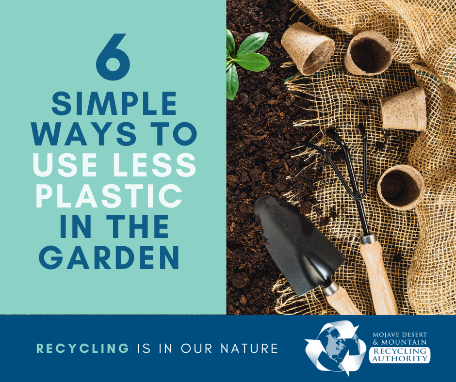 Six Ways to Use Less Plastic in the Garden