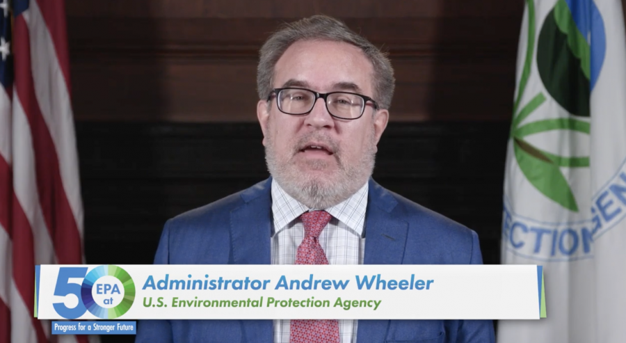 EPA Andrew Wheeler Video