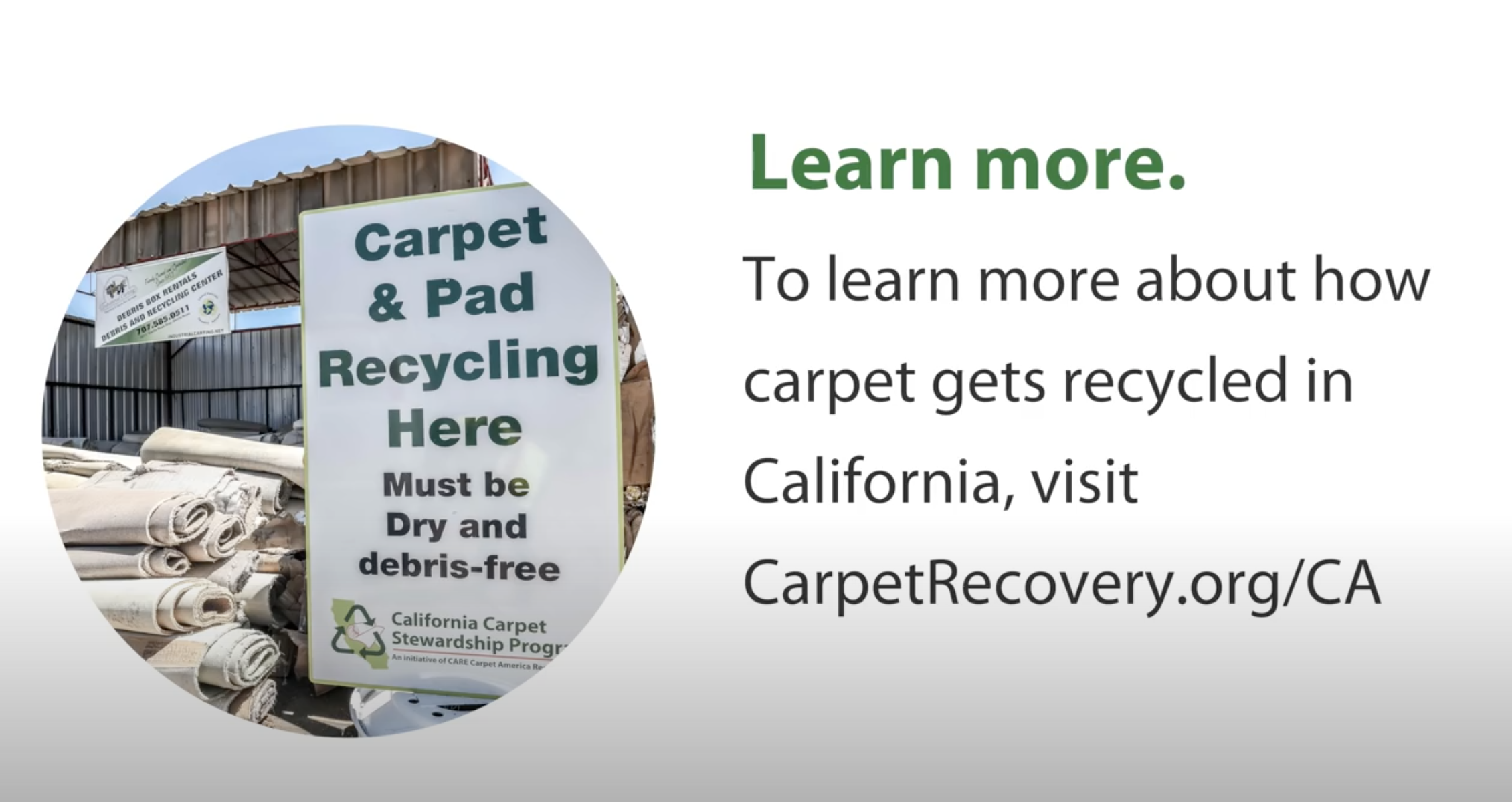 Carpet Recycling In California