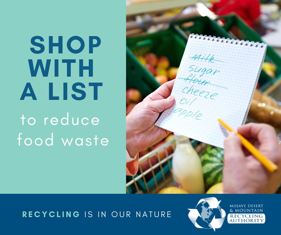 Make a List to Save Food Waste