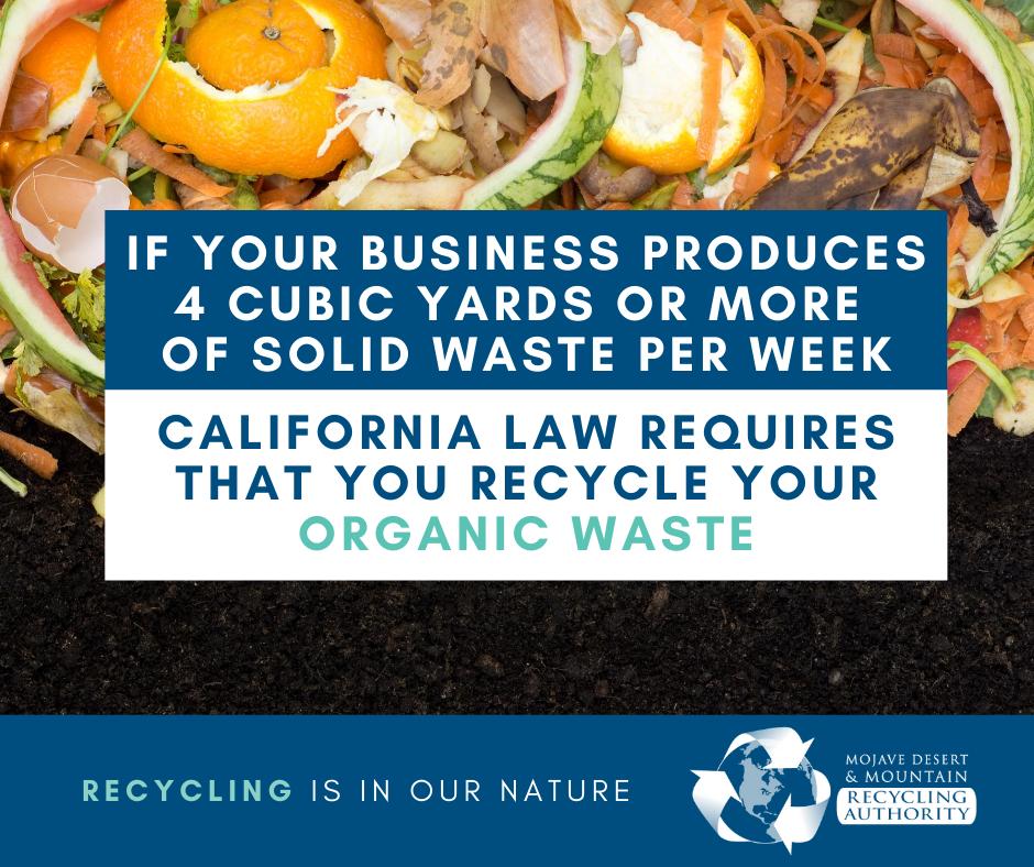 AB 1826 Mandatory Organics Recycling