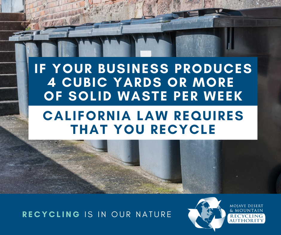 Business Recycling Laws