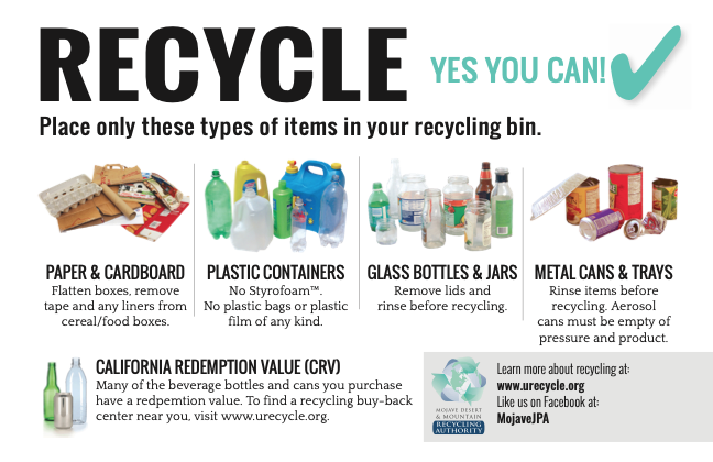 General Recycling Flyer Thumbnail