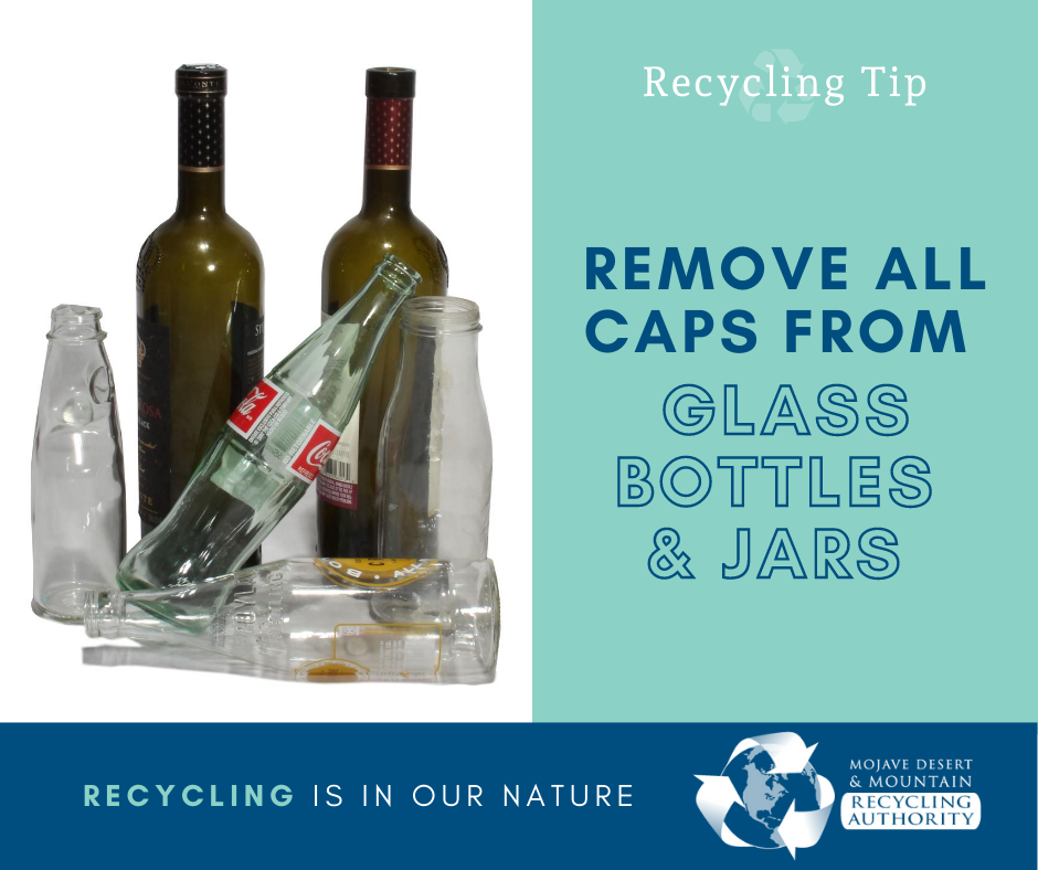 Remove caps from Glass Bottles and Jars