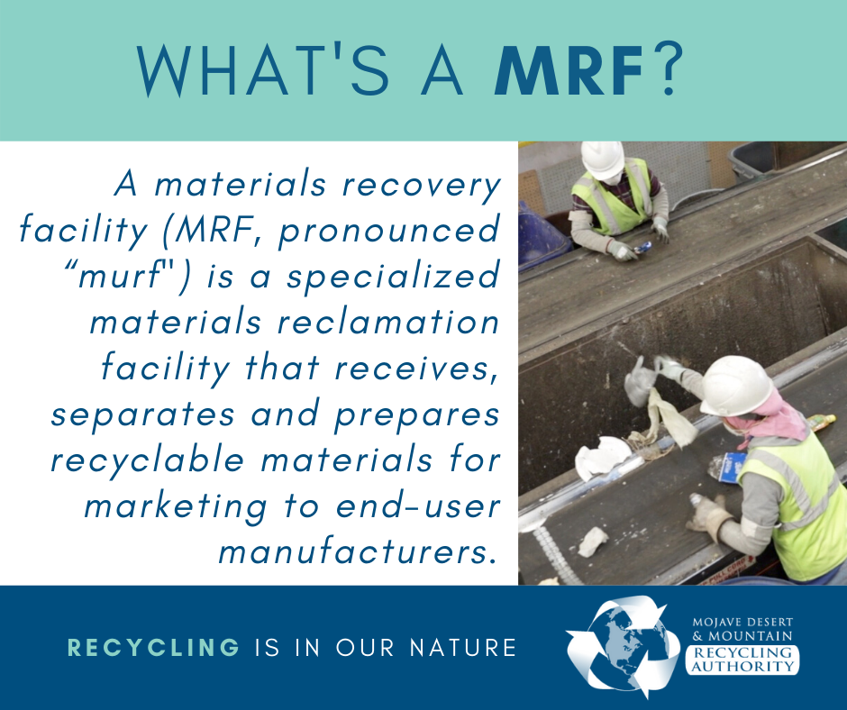 What's a MRF?