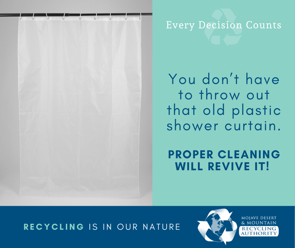 Don't toss the Plastic Shower Curtain