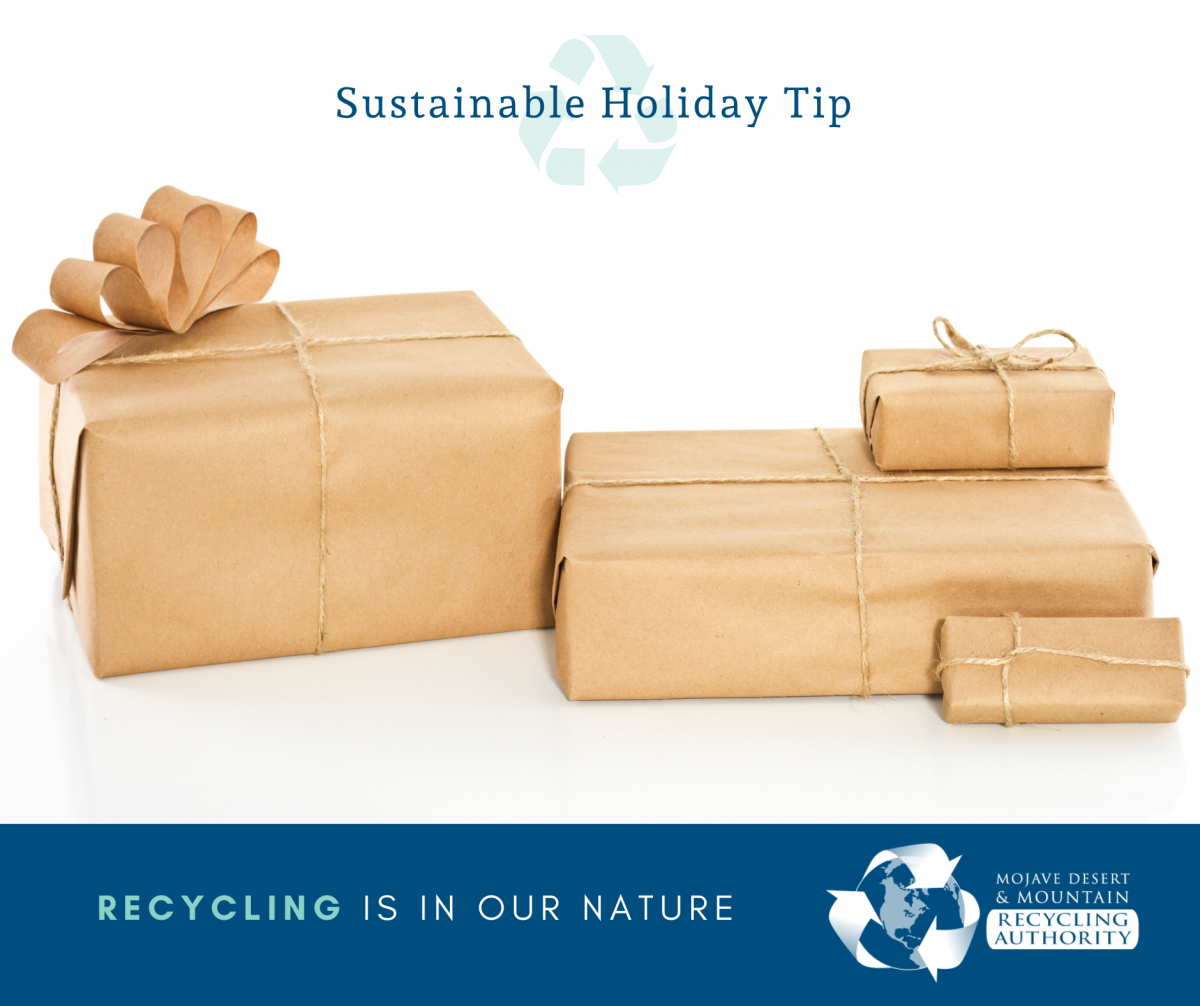 Holiday Tip: Alternative Wrapping