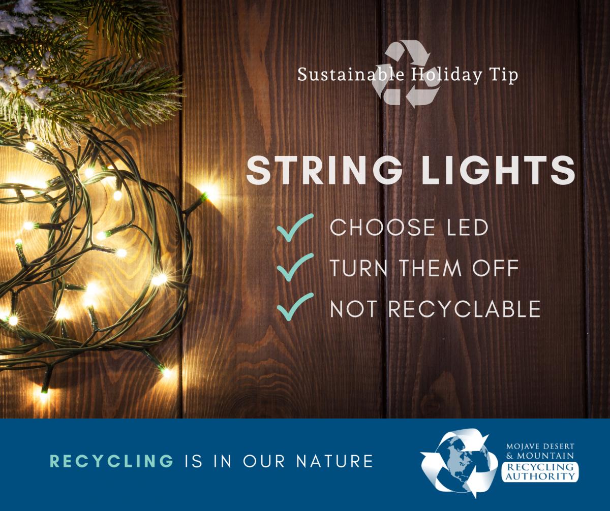 Holiday Tip: String Lights
