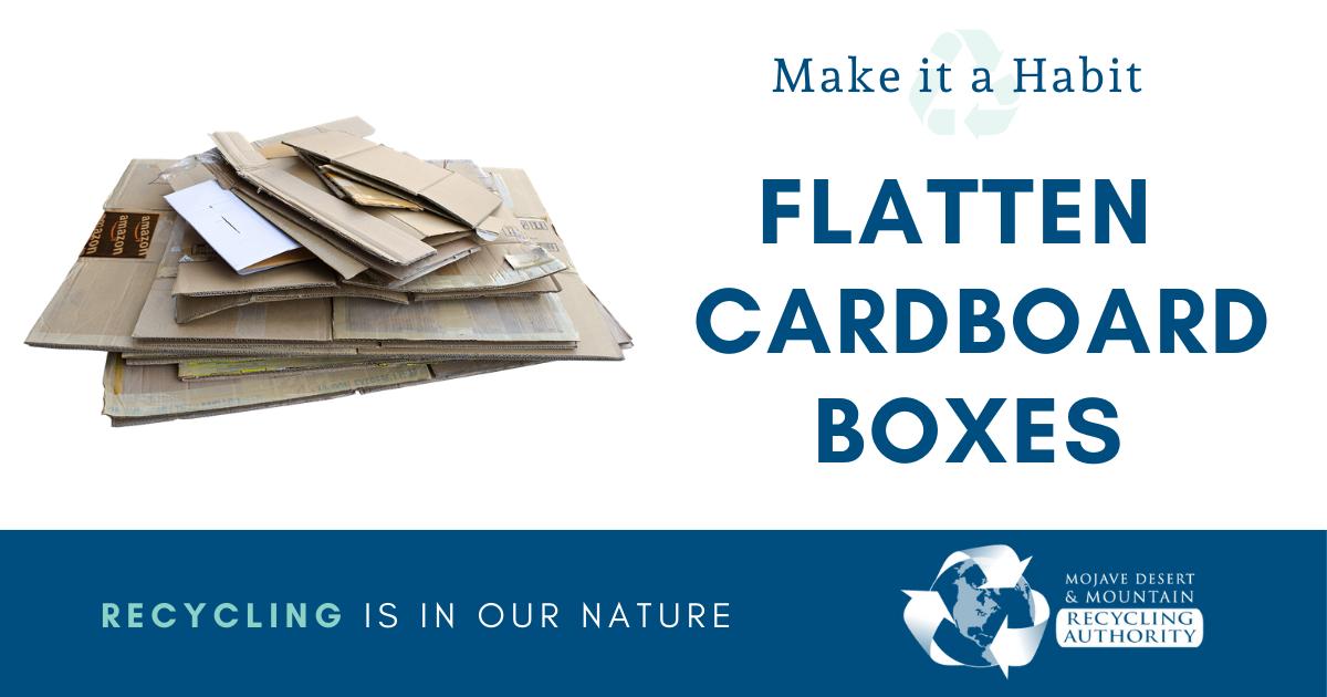 Flatten Cardboard