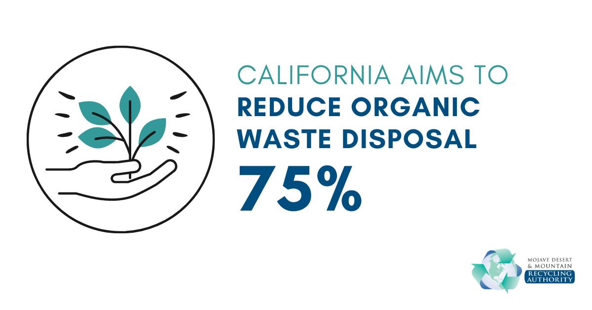 California Organic Waste Disposal Goal