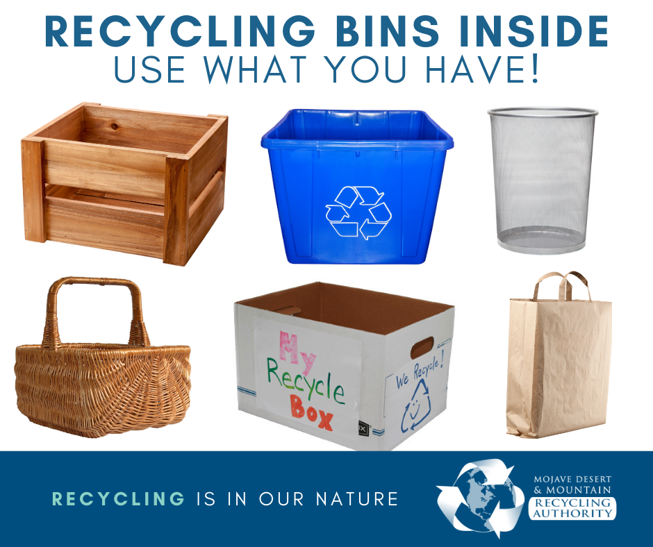 Any Basket Will Do for Recycling