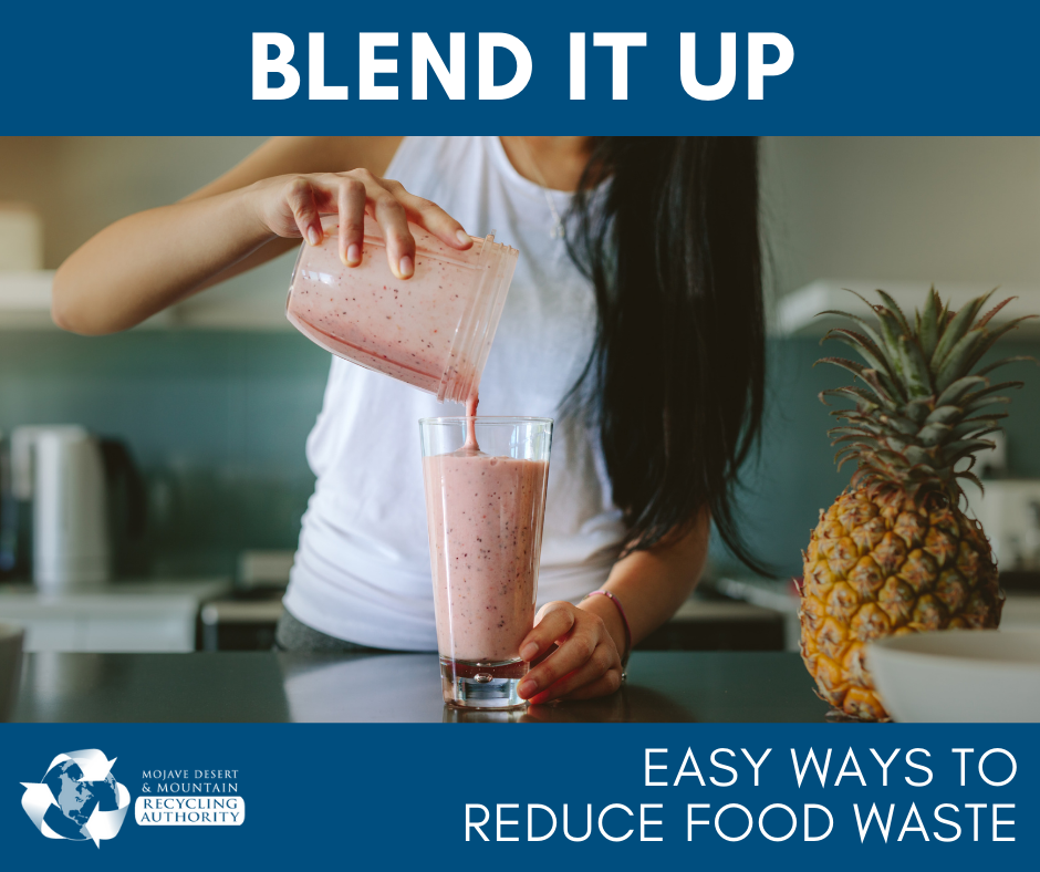 Blend it Up to Avoid Food Waste
