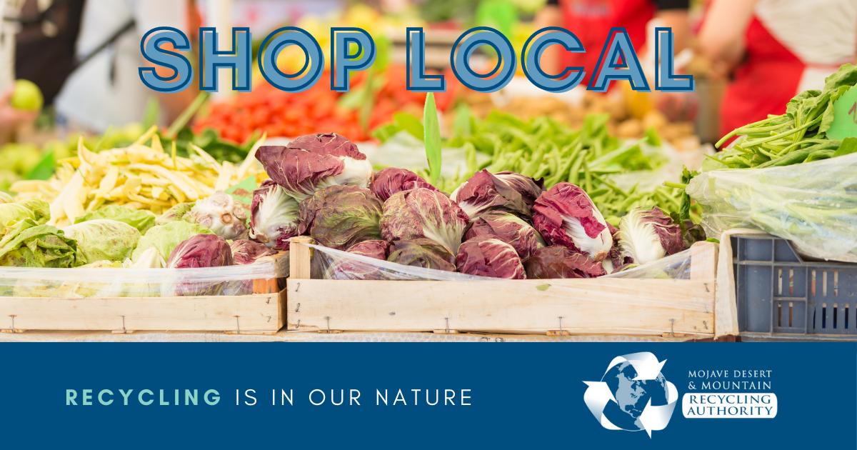 Shop Local Farmer's Markets