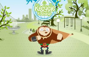 Recycle Round Up Game for Kids